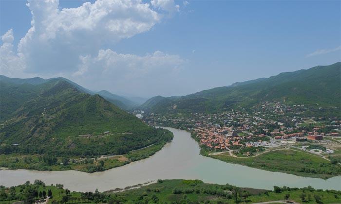 Blick auf Mtshketa