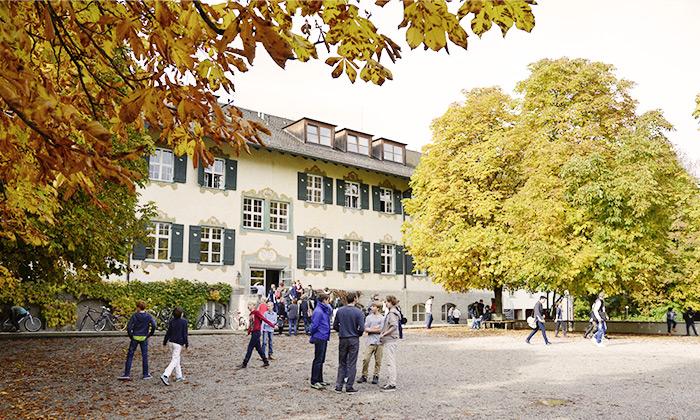 Das Haupthaus beherbergt zahlreiche Klassenzimmer