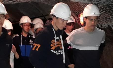 The Landheim visits the Peißenberg Pit