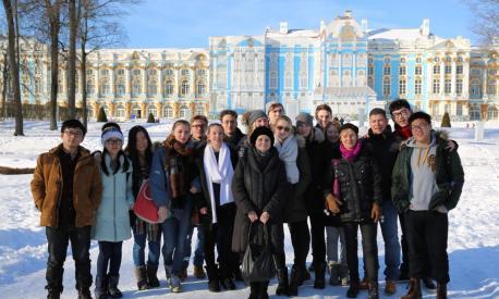 Bericht von der Kursfahrt nach Sankt-Petersburg
