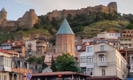 Austausch mit unserer georgischen Partnerschule in Tiflis, Georgien