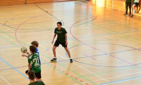 Sportliches Engagement für Flüchtlinge