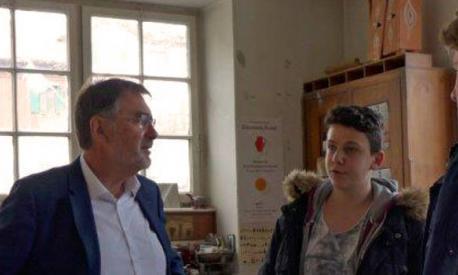 Besuch von MdL Dr. Herbert Kränzlein im Landheim