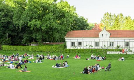 Familienpicknick am Landheim