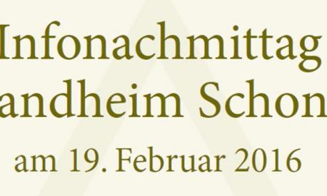 Infonachmittag 5.Klassen und Grundschule für Internat und Tagesheim